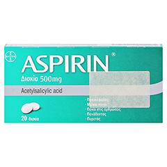 Aspirin 20 Stück - Rückseite