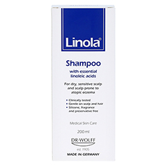 Linola Shampoo 200 Milliliter - Rückseite