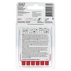 Tepe Interdentalbürste 0,5mm rot 6 Stück - Rückseite