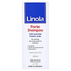 Linola Shampoo Forte 200 Milliliter - Rückseite