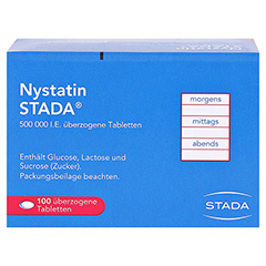 Nystatin STADA 500000I.E. 100 Stück N3 - Rückseite