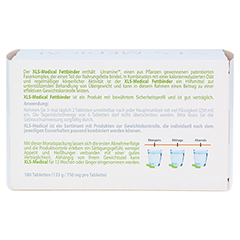 XLS Medical Fettbinder Tabletten Monatspackung 180 Stück - Rückseite