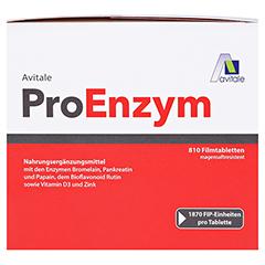 PROENZYM magensaftresistente Tabletten 810 Stück - Vorderseite