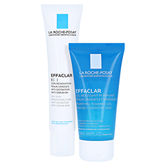 La Roche-Posay Effaclar K(+) Hautbilderneuernde Pflege gegen Hautunreinheiten + gratis Effaclar Reinigungsgel 50 ml 40 Milliliter