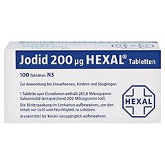 Jodid 200µg HEXAL 100 Stück N3 - Oberseite