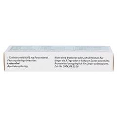 Paracetamol BC 500mg 20 Stück N2 - Oberseite