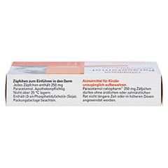 Paracetamol-ratiopharm 250mg 10 Stück N1 - Oberseite