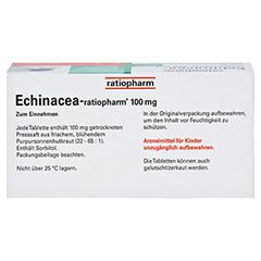 Echinacea-ratiopharm 100mg 50 Stück N2 - Oberseite