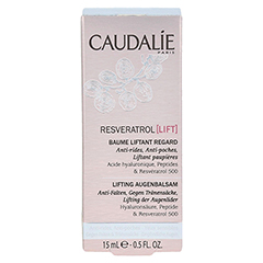CAUDALIE Resveratrol Lift Lifting Augenbalsam 15 Milliliter - Vorderseite