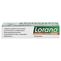 Lorano akut 14 Stück - Unterseite