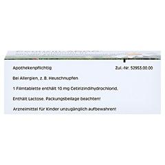 Cetirizin-ADGC 50 Stück N2 - Unterseite
