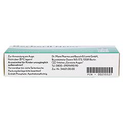 Berberil N EDO Augentropfen 20x0.5 Milliliter - Unterseite