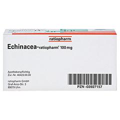 Echinacea-ratiopharm 100mg 50 Stück N2 - Unterseite