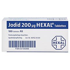 Jodid 200µg HEXAL 100 Stück N3 - Unterseite