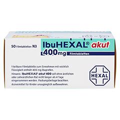 IbuHEXAL akut 400mg 50 Stück N3 - Unterseite