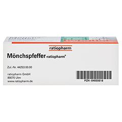 MÖNCHSPFEFFER-ratiopharm 4mg 60 Stück N2 - Unterseite