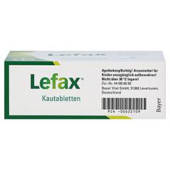 Lefax 100 Stück N3 - Unterseite