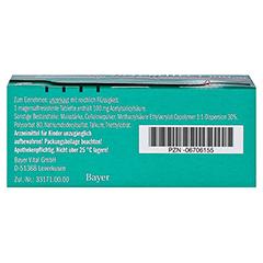 Aspirin protect 100mg 98 Stück N3 - Unterseite