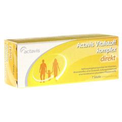 ACTAVIS Vitalstoffkomplex direkt Granulat 7 Stück