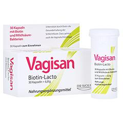 VAGISAN Biotin-Lacto Kapseln 30 Stück