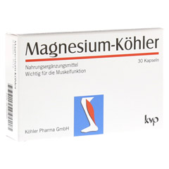 MAGNESIUM KÖHLER Kapseln 1x30 Stück
