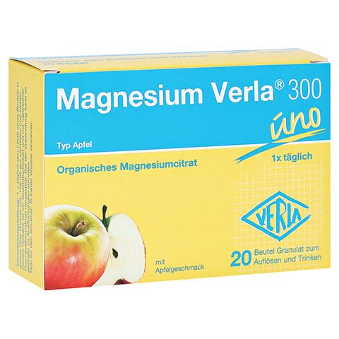 MAGNESIUM VERLA 300 Apfel Granulat 20 Stück