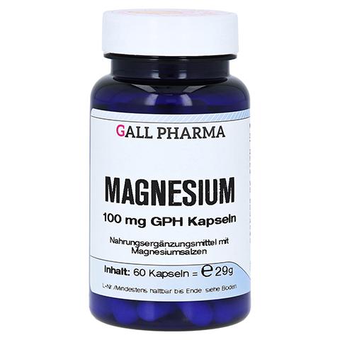 MAGNESIUM 100 mg Kapseln 60 Stück