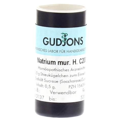 NATRIUM MURIATICUM C 200 Einzeldosis Globuli 0.5 Gramm N1