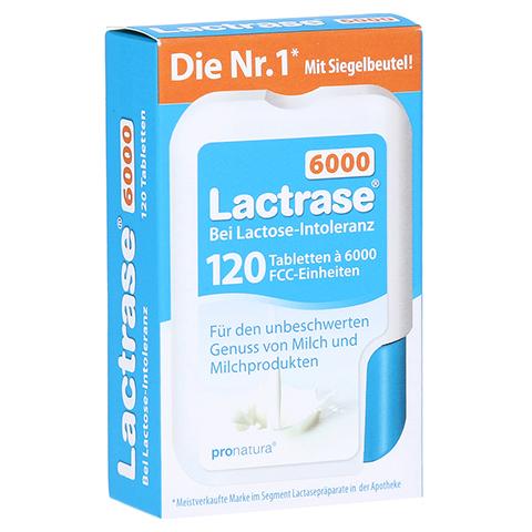 LACTRASE 6.000 FCC Tabletten im Klickspender 120 Stück