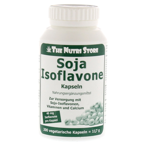 SOJA ISOFLAVONE 40 mg Kapseln 200 Stück