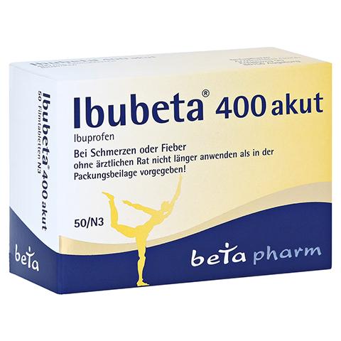 Ibubeta 400 akut 50 Stück N3