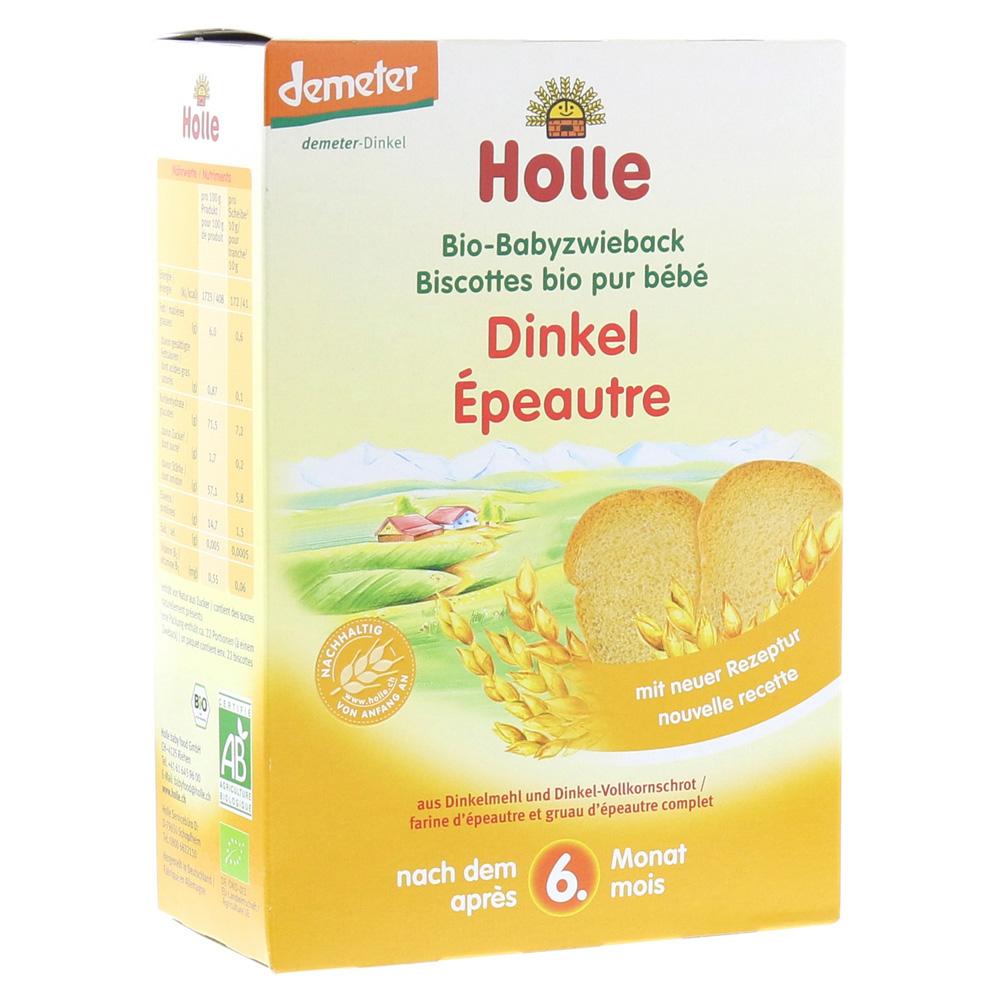 Holle baby food AG HOLLE Bio Baby Dinkel Zwieback 200 Gramm