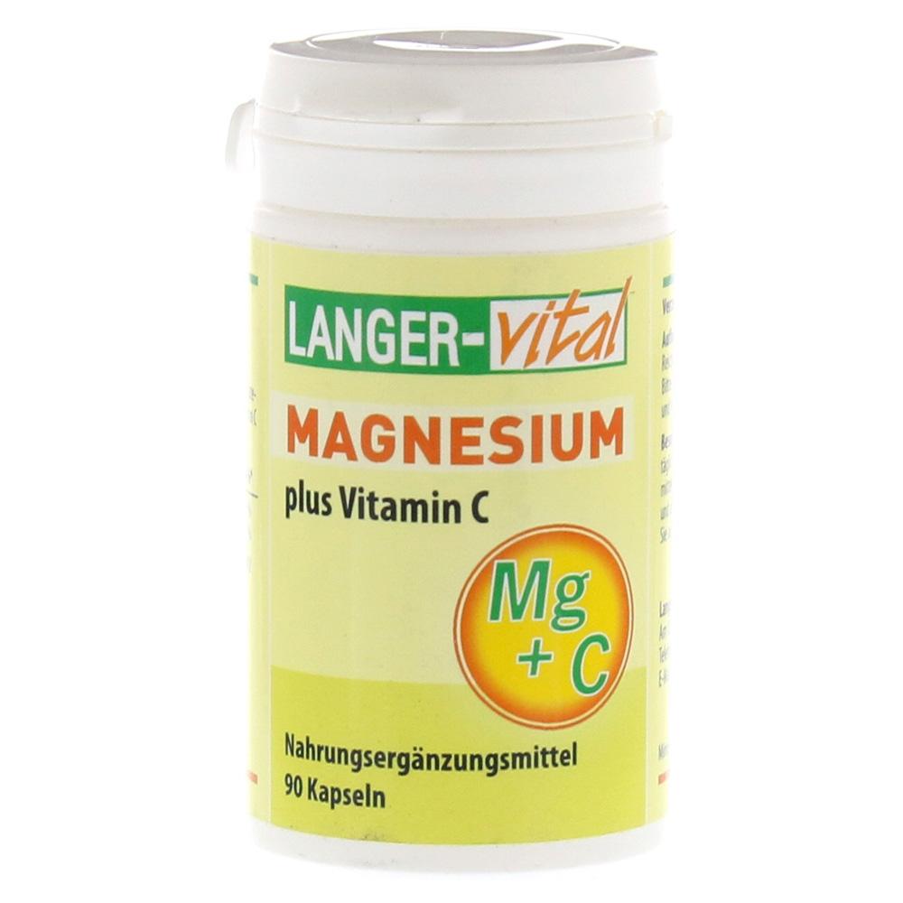 magnesium vitamin c 180 mg tag kapseln 90 st ck online bestellen medpex versandapotheke. Black Bedroom Furniture Sets. Home Design Ideas