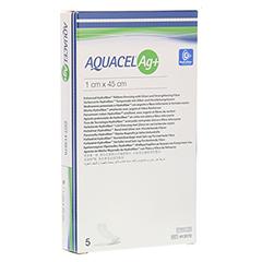AQUACEL Ag+ 1x45 cm Tamponaden 5 Stück