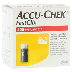 ACCU CHEK FastClix Lanzetten 204 Stück