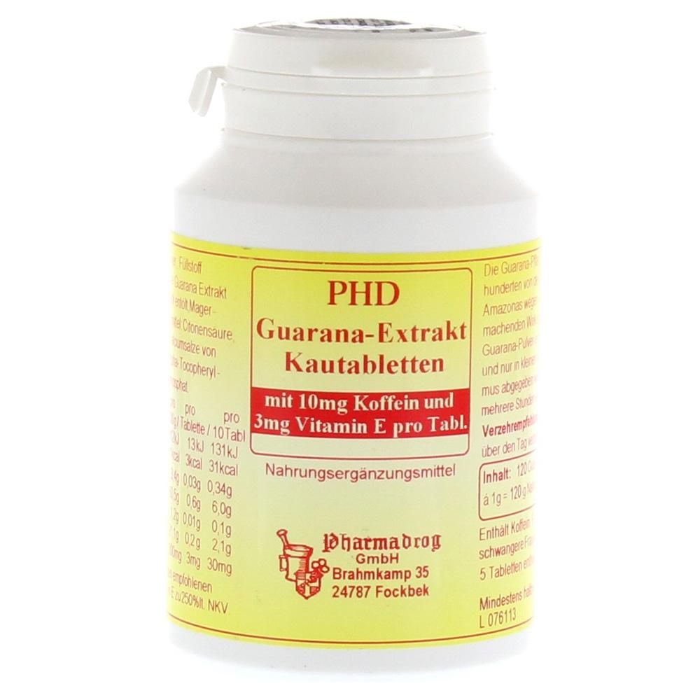 guarana extrakt