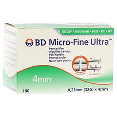 BD MICRO-FINE Ultra Pen-Nadeln 0,23x4 mm 100 Stück