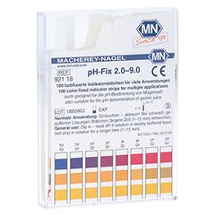 PH-FIX Indikatorstäbchen pH 2,0-9,0 100 Stück