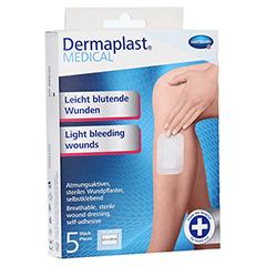 DERMAPLAST MEDICAL leicht blutende Wunde 8x10 cm 5 Stück