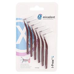 MIRADENT Interdentalbürste I-Prox L 0,8 mm bordea. 6 Stück