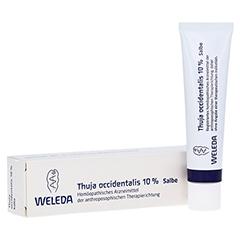THUJA OCCIDENTALIS 10% Salbe 25 Gramm N1