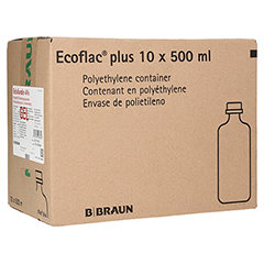 GELAFUNDIN 4% Ecoflac plus Infusionslösung 10x500 Milliliter N2