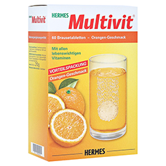 HERMES Multivit Brausetabletten 60 Stück