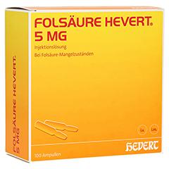 FOLSÄURE HEVERT 5 mg Ampullen 100 Stück