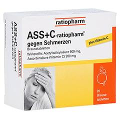 ASS+C-ratiopharm gegen Schmerzen 20 Stück