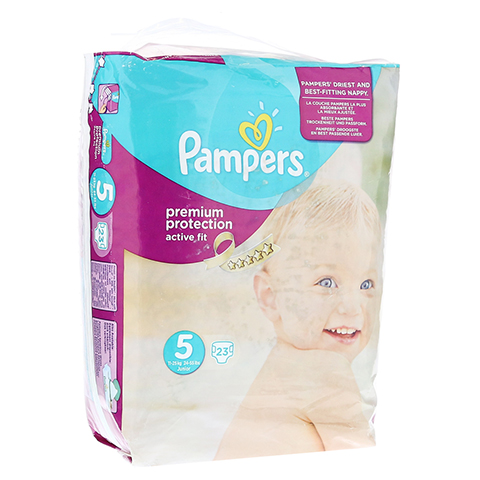 PAMPERS Active Fit Gr.5 junior 11-25kg Sparpack 23 Stück