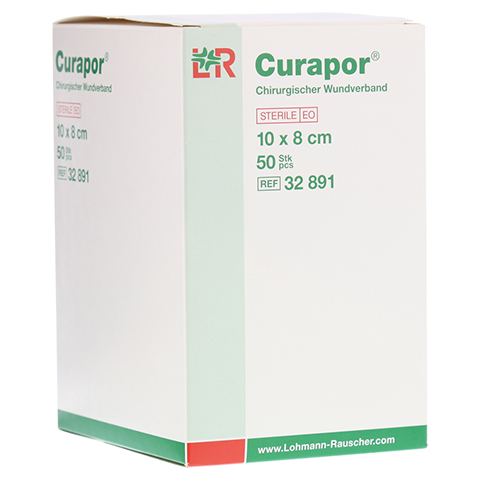 CURAPOR Wundverband steril chirurgisch 8x10 cm 50 Stück
