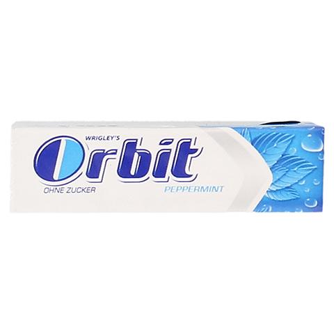 WRIGLEY'S Orbit ohne Zucker Peppermint Streifen 7 Stück