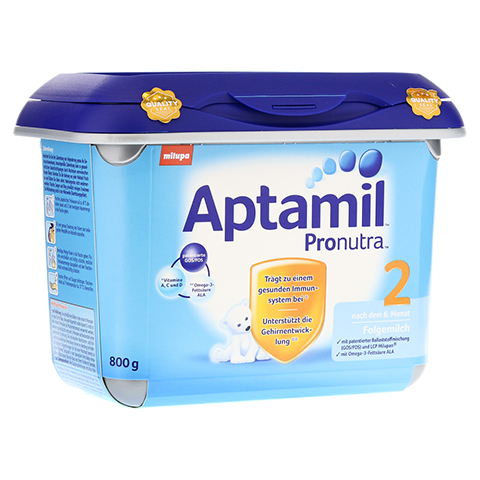 APTAMIL Pronutra 2 Folgemilch SAFEBOX Pulver 800 Gramm