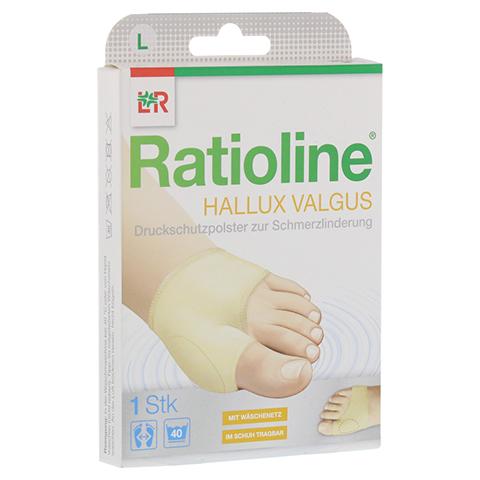 RATIOLINE Hallux valgus Druckschutzpolster Gr.L 1 Stück